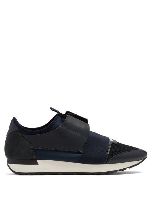 nouveau style 4de4f 0cfb6 balenciaga noir et bleu